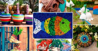 Поделки для сада: как украсить дачу своими руками